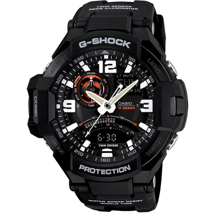Casio - G-Shock GA 1000-1A Gravity Defier