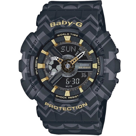 Casio - Baby-G BA 110TP-1A Tribal Pattern