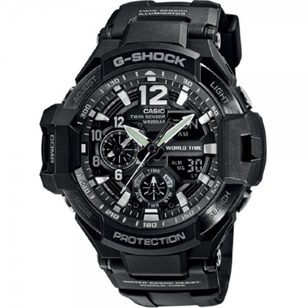 Casio - G-Shock GA 1100-1A Gravity Defier 15040364