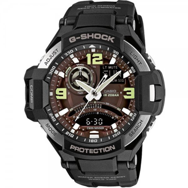 Casio - G-Shock GA 1000-1B Gravity Defier 15036212