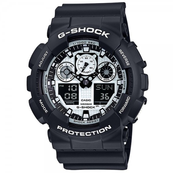 Casio - G-Shock GA 100BW-1A 15041848