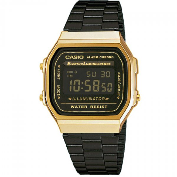 Casio - Digital A 168GB-1B 15043107