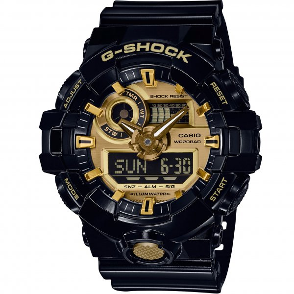 Casio - G-Shock GA 710GB-1A 15044283