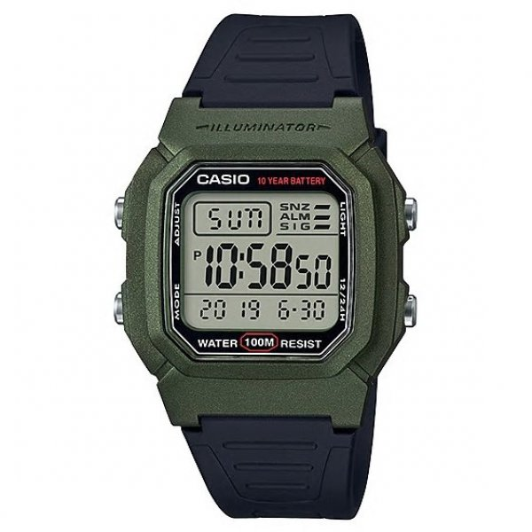 Pánské hodinky CASIO W 800HM-3A 15046892