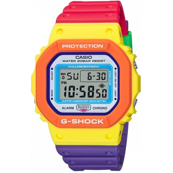Hodinky Casio G-Shock Psychedelic Multi Colors Series DW-5610DN-9ER