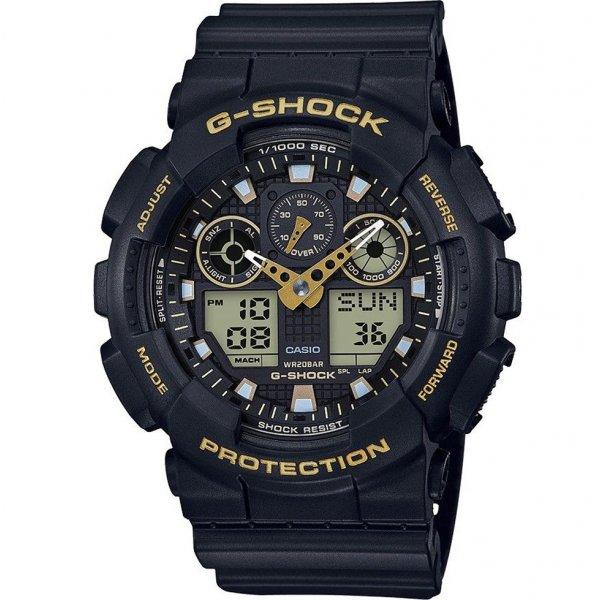 Hodinky Casio G-Shock Original - Black & Gold Special Edition GA-100GBX-1A9ER