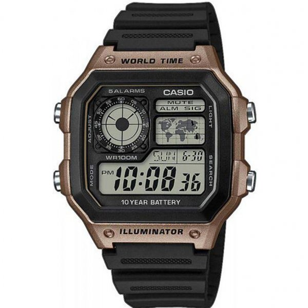 CASIO Collection AE-1200WH-5AVEF