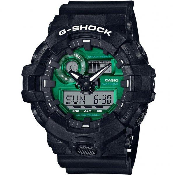 Hodinky Casio G-Shock Original - Midnight Green Series GA-700MG-1AER